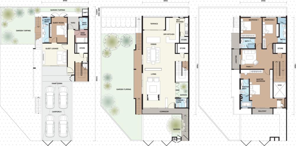 Vilaris Type C Floor Plan
