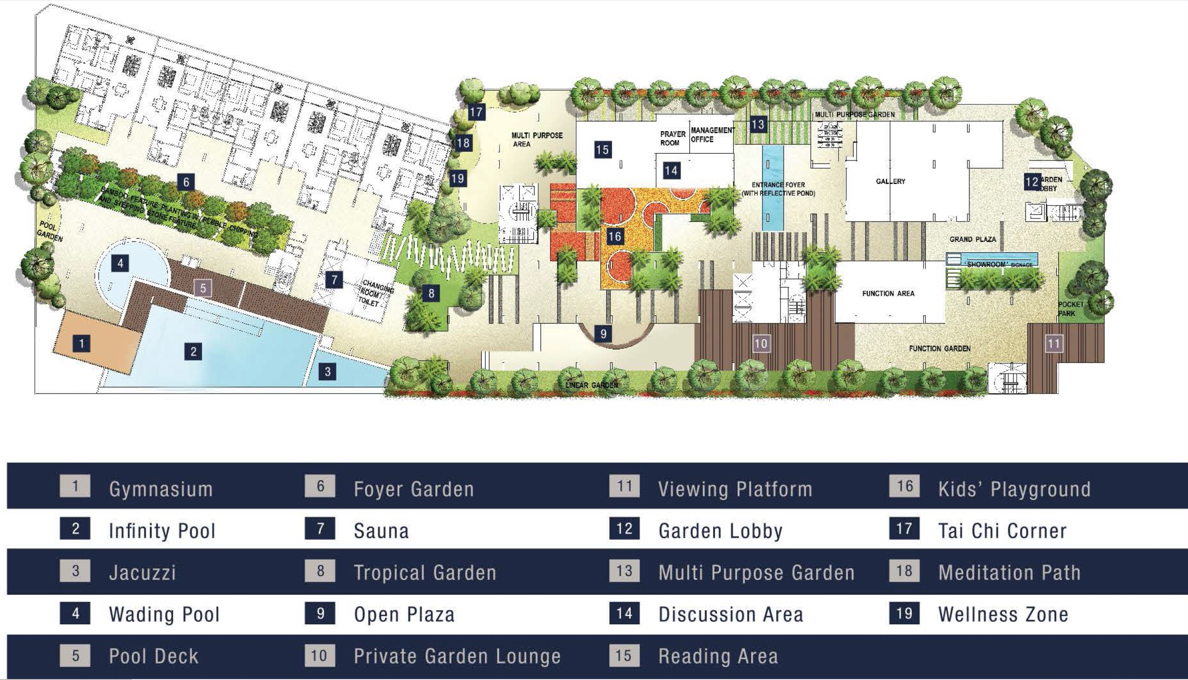 Site Plan of Summerton Bayan Indah
