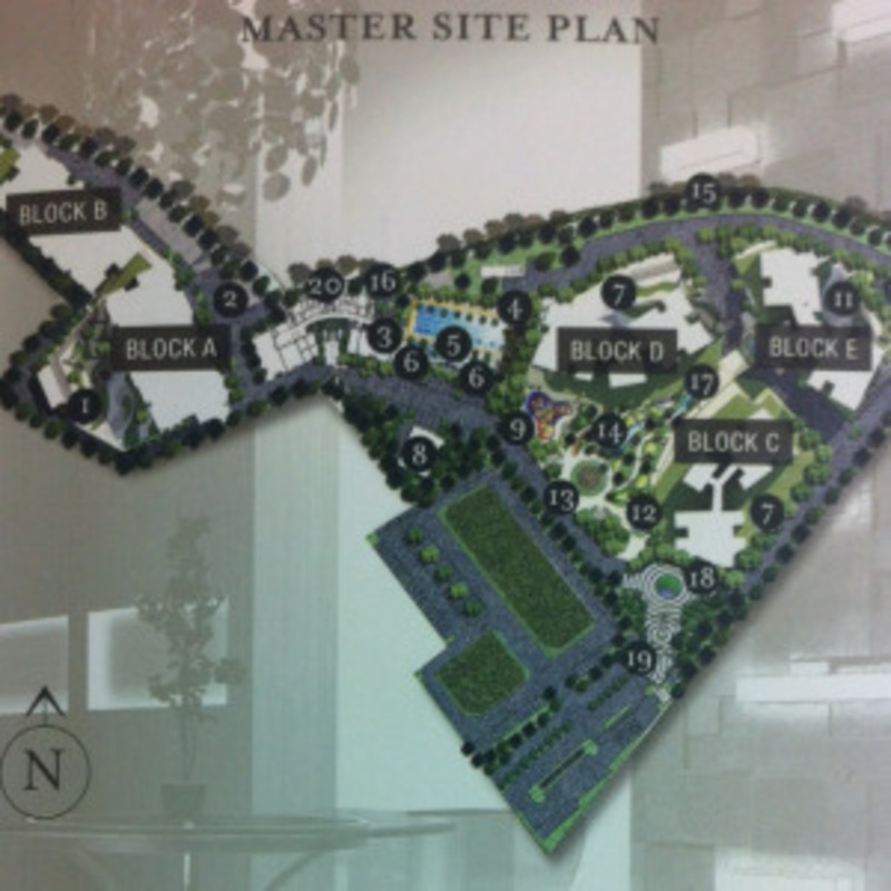 Master Plan of The Vyne