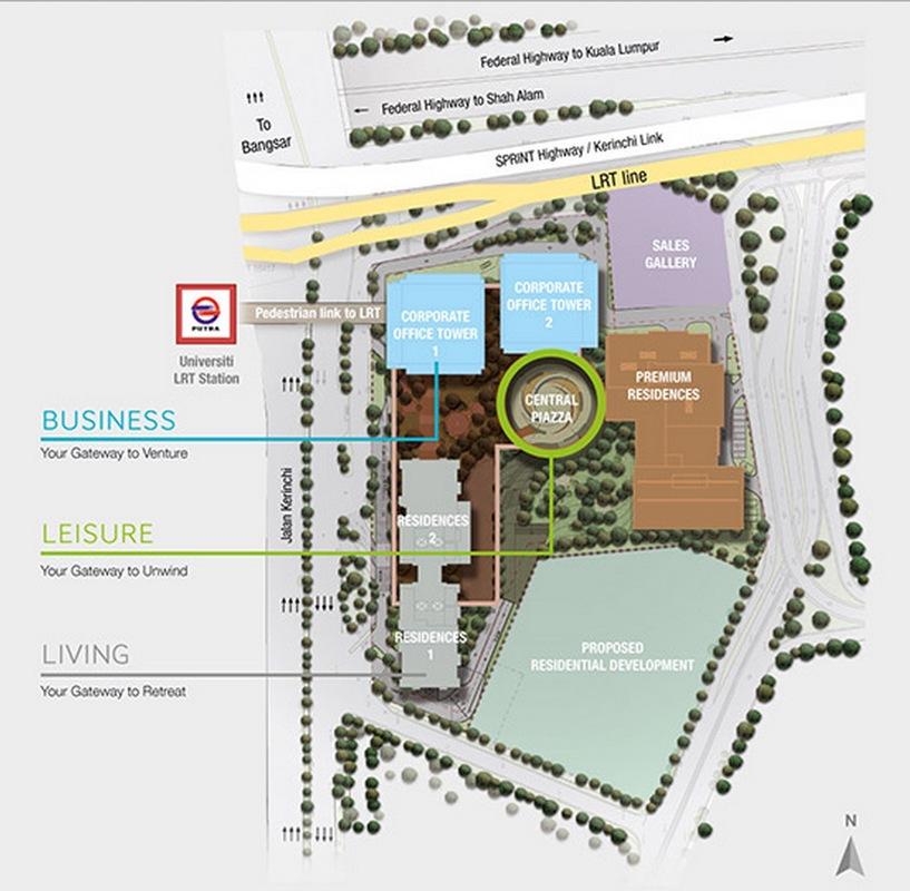 Master Plan of KL Gateway