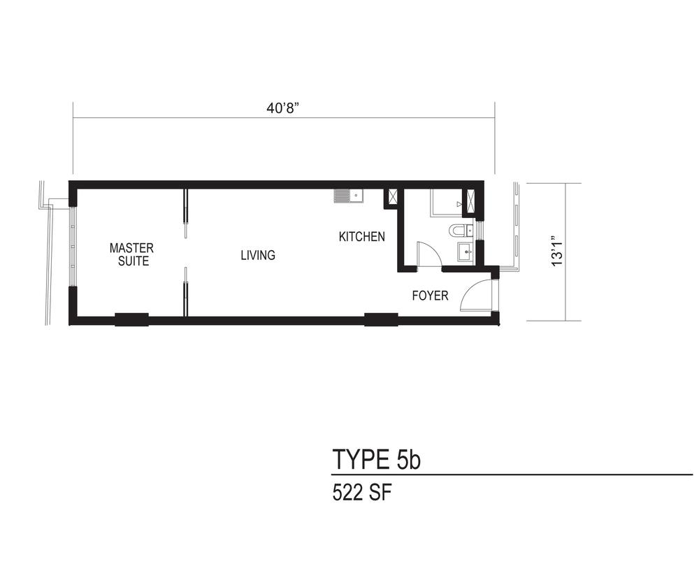 The Octagon Type 5b Floor Plan