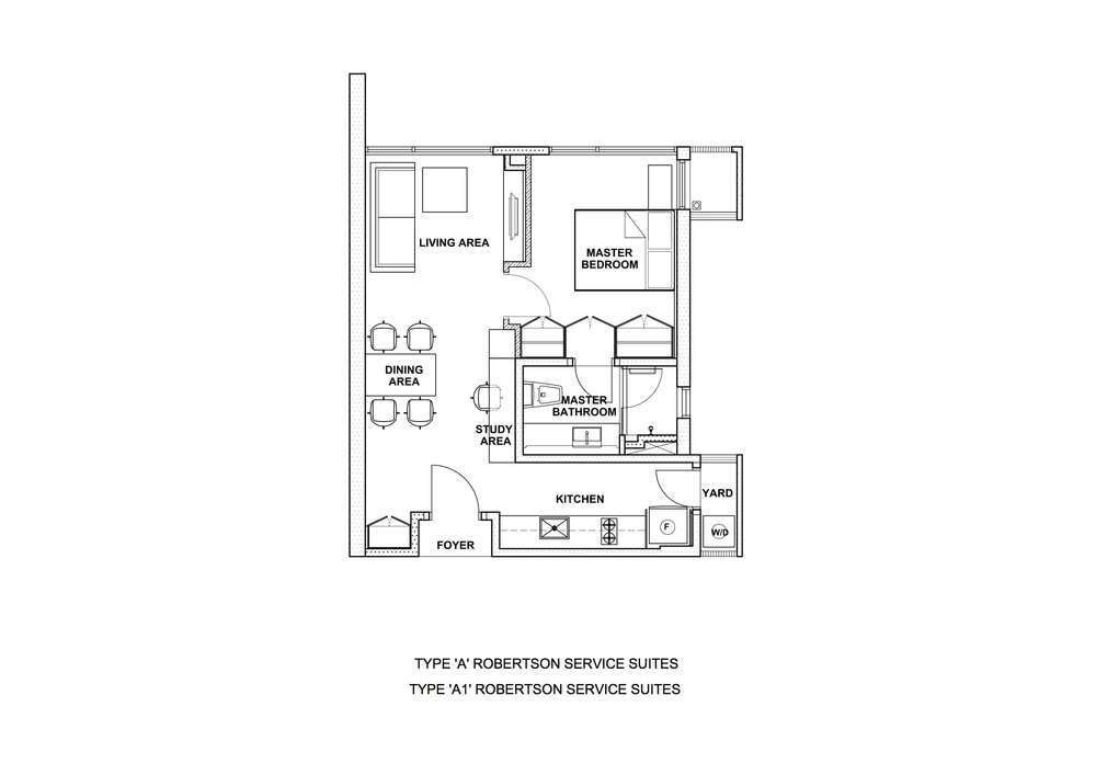The Robertson Type A & A1 Floor Plan