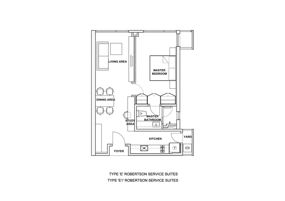 The Robertson Type E & E1 Floor Plan