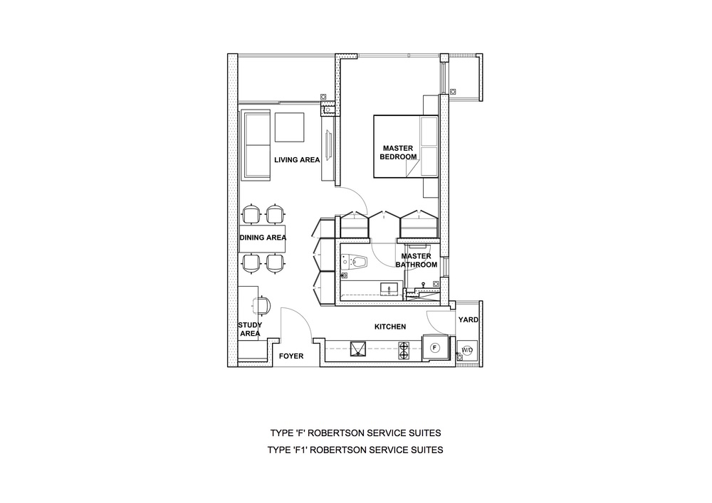 The Robertson Type F & F1 Floor Plan