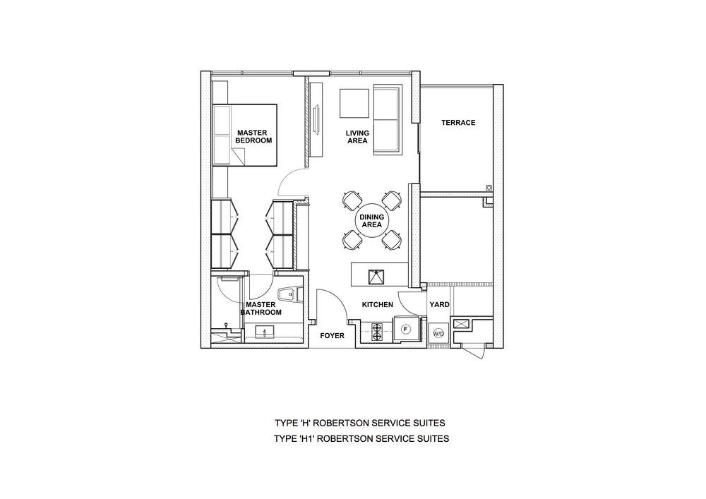 The Robertson Type H & H1 Floor Plan