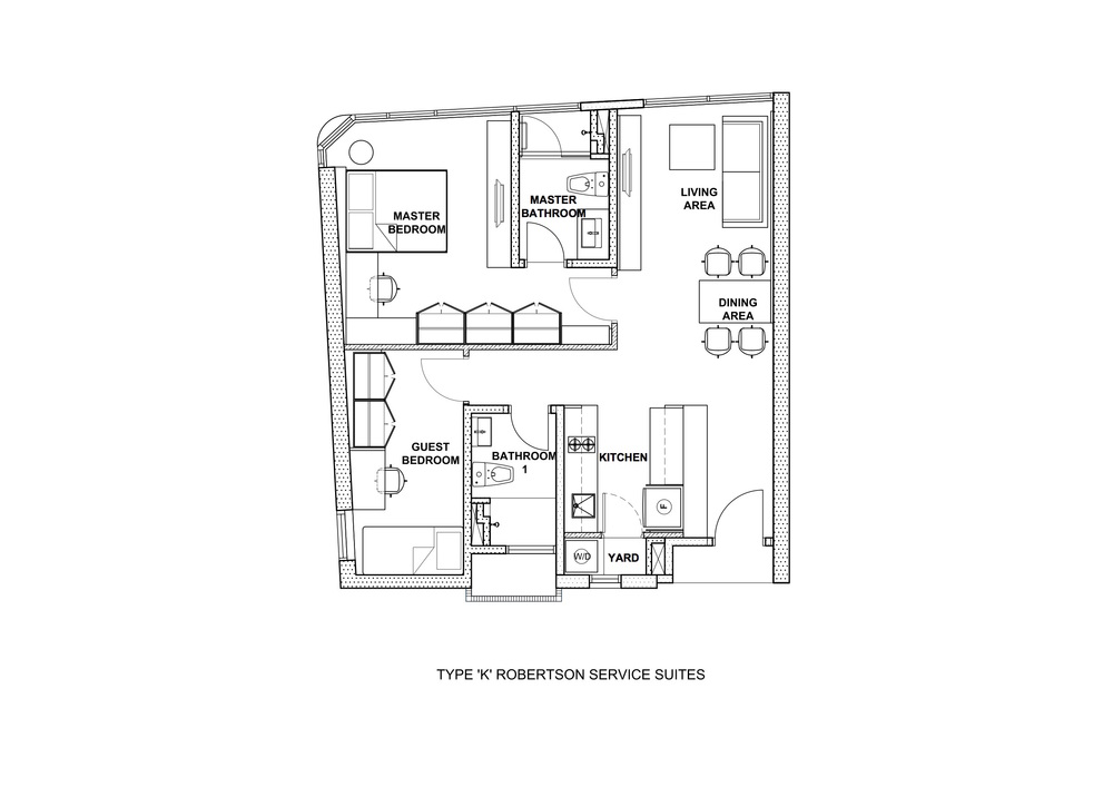 The Robertson Type K Floor Plan