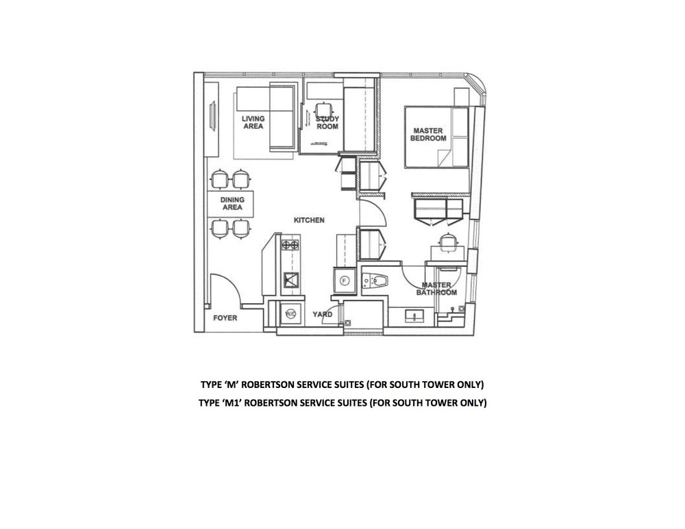 The Robertson Type M & M1 Floor Plan