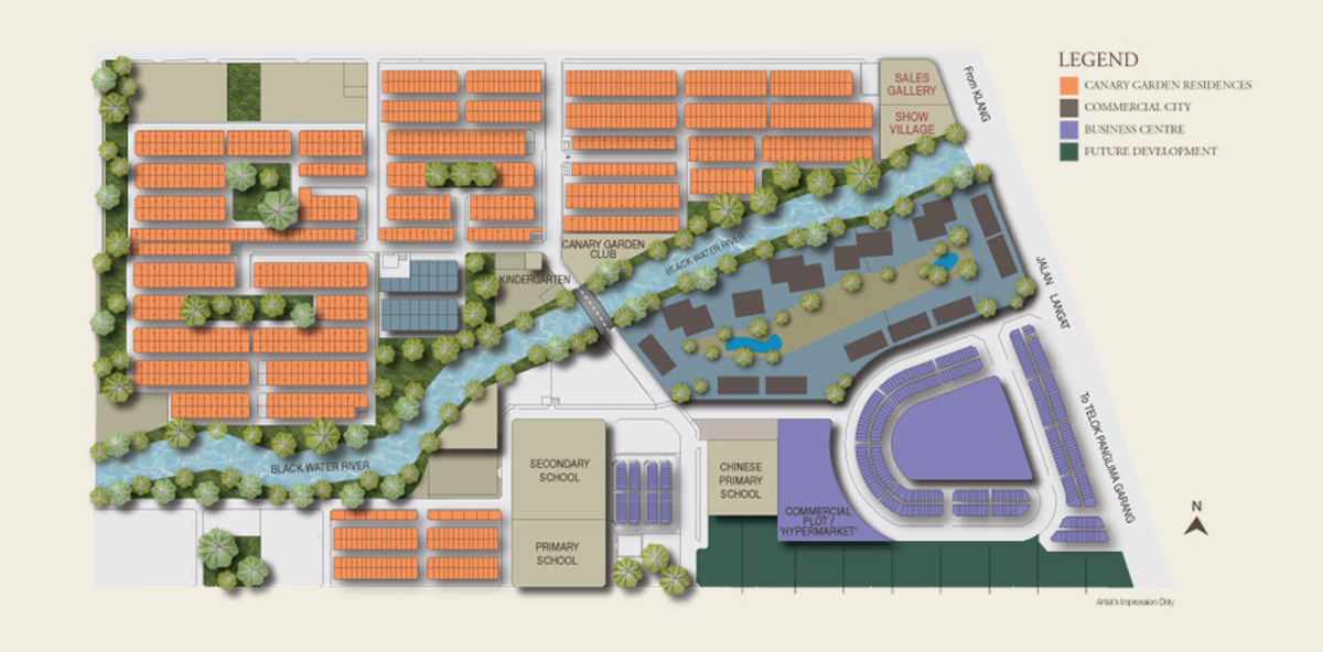 Master Plan of Bestari Business Park