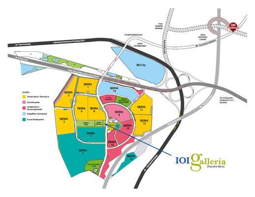 Master Plan of La Thea Residences