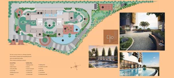 Site Plan of The Clio Residences @ IOI Resort City