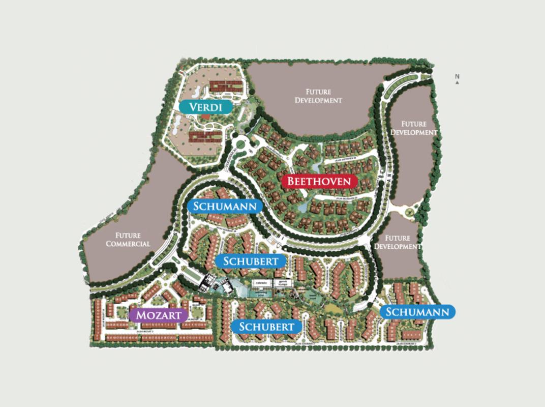 Master Plan of Verdi Eco-dominiums