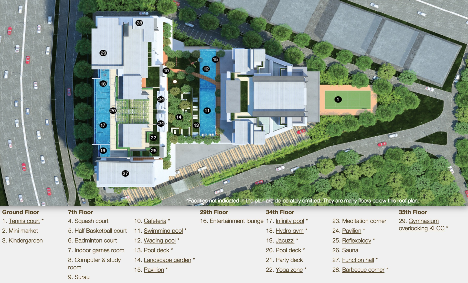 Site Plan of The Reach @ Titiwangsa