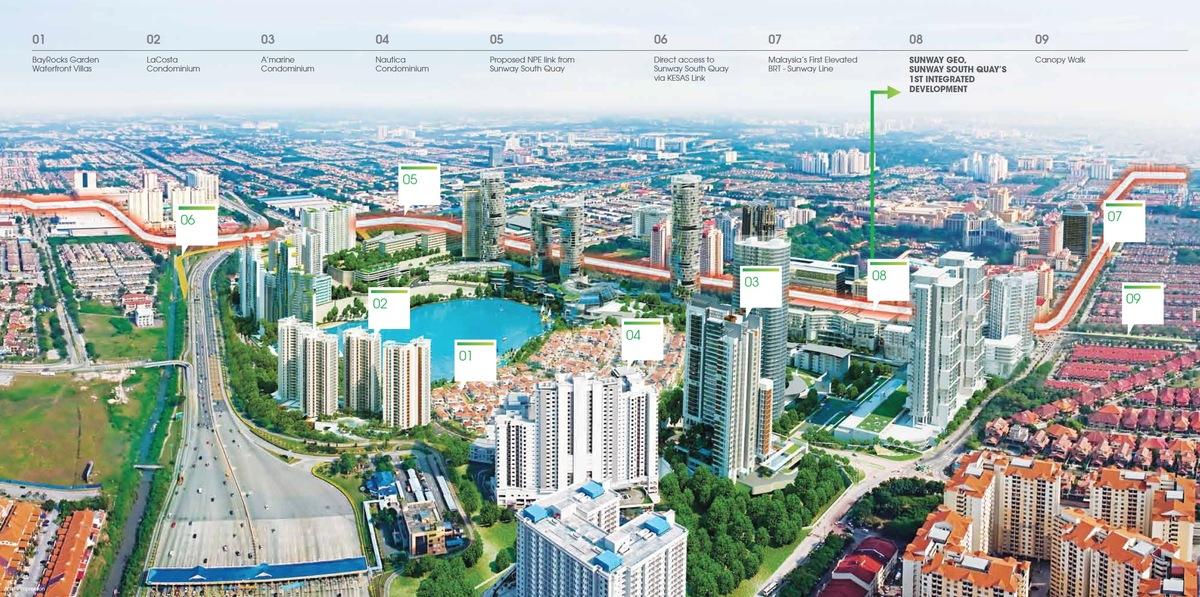 Master Plan of Sunway GEO Retail