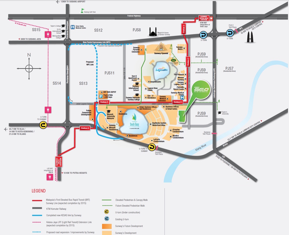 Master Plan of Sunway GEO Residences