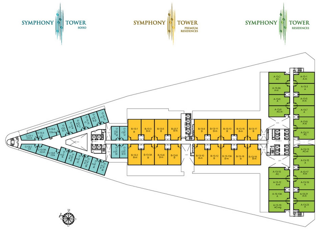 Master Plan of Symphony Tower
