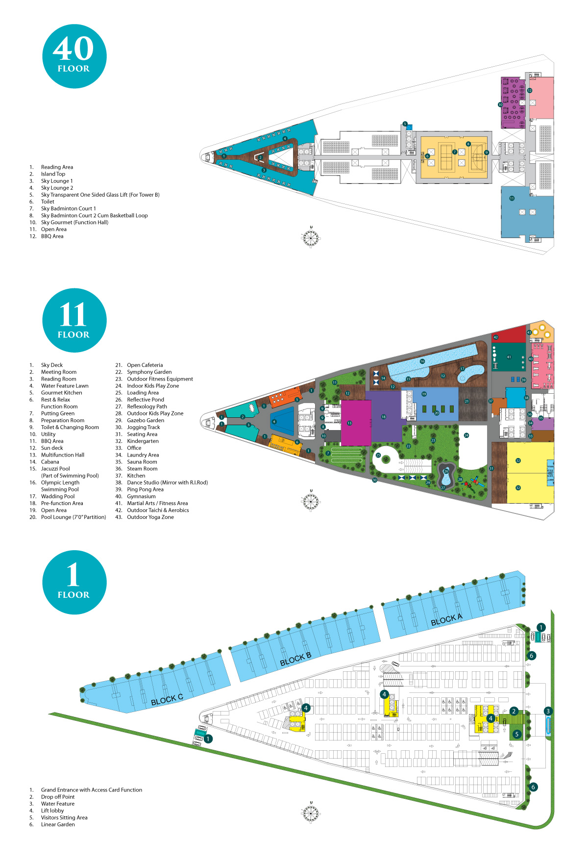 Site Plan of Symphony Tower