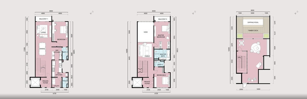 Anjali @ North Kiara Villa - Type C Floor Plan