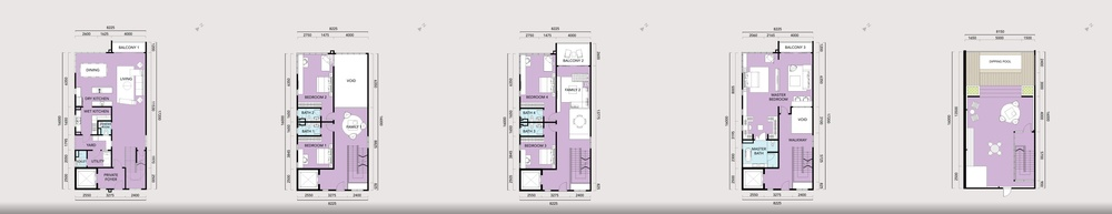 Anjali @ North Kiara Villa - Type D Floor Plan