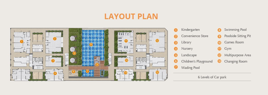 Site Plan of Epic Residence