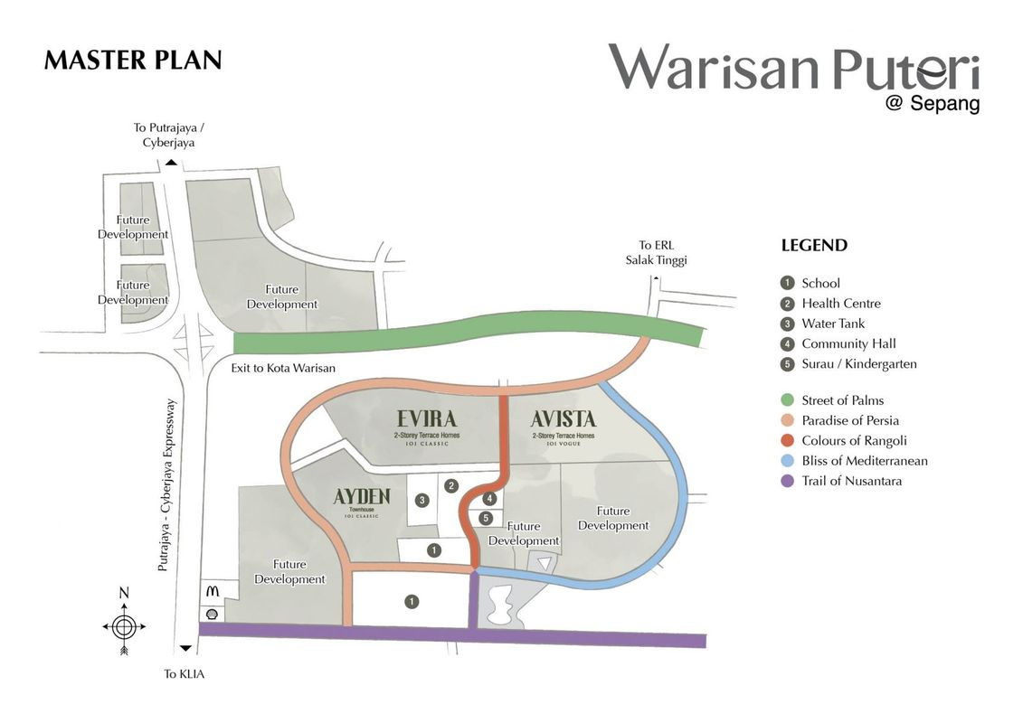Master Plan of Warisan Puteri
