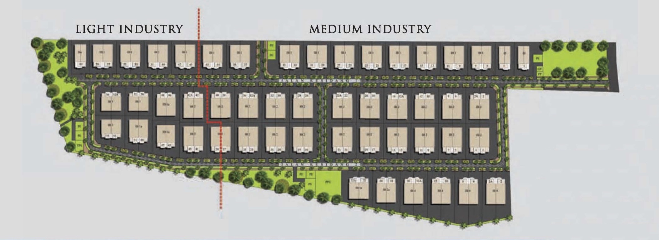 Site Plan of RCI Park