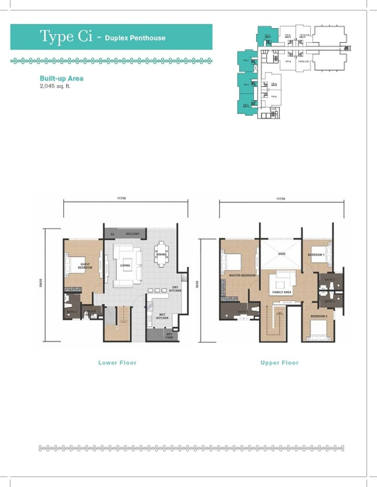 Temasya 8 Type Ci Floor Plan