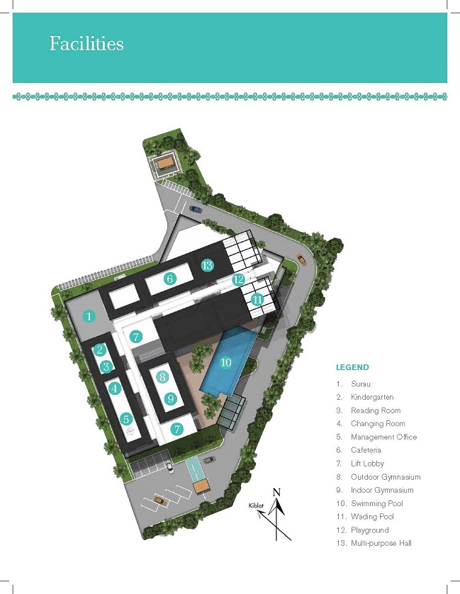 Site Plan of Temasya 8
