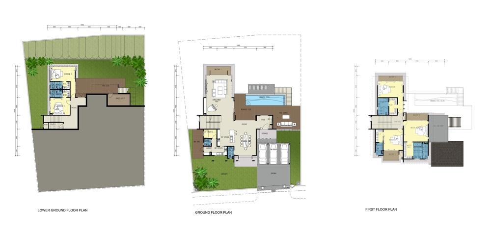 Botanica 4 Lorena (Type B) Floor Plan