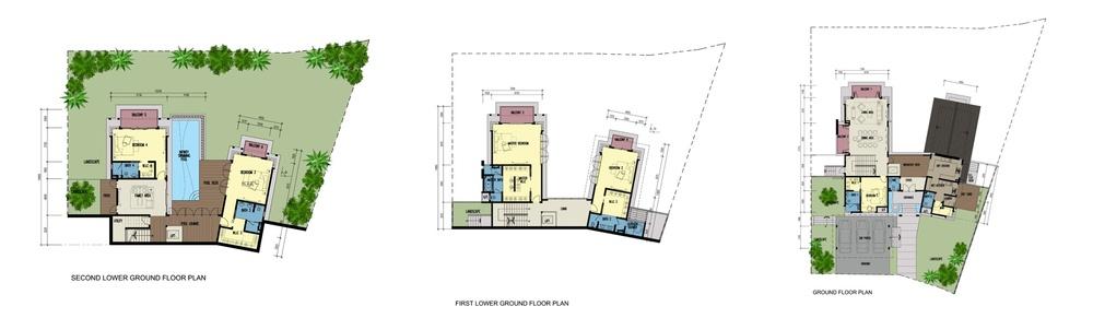 Botanica 4 Lavender (Type D) Floor Plan