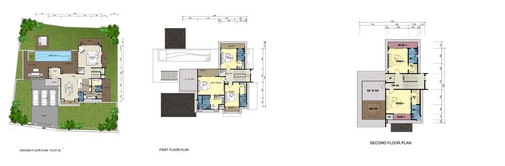 Botanica 4 Lawrencia (Type G) Floor Plan