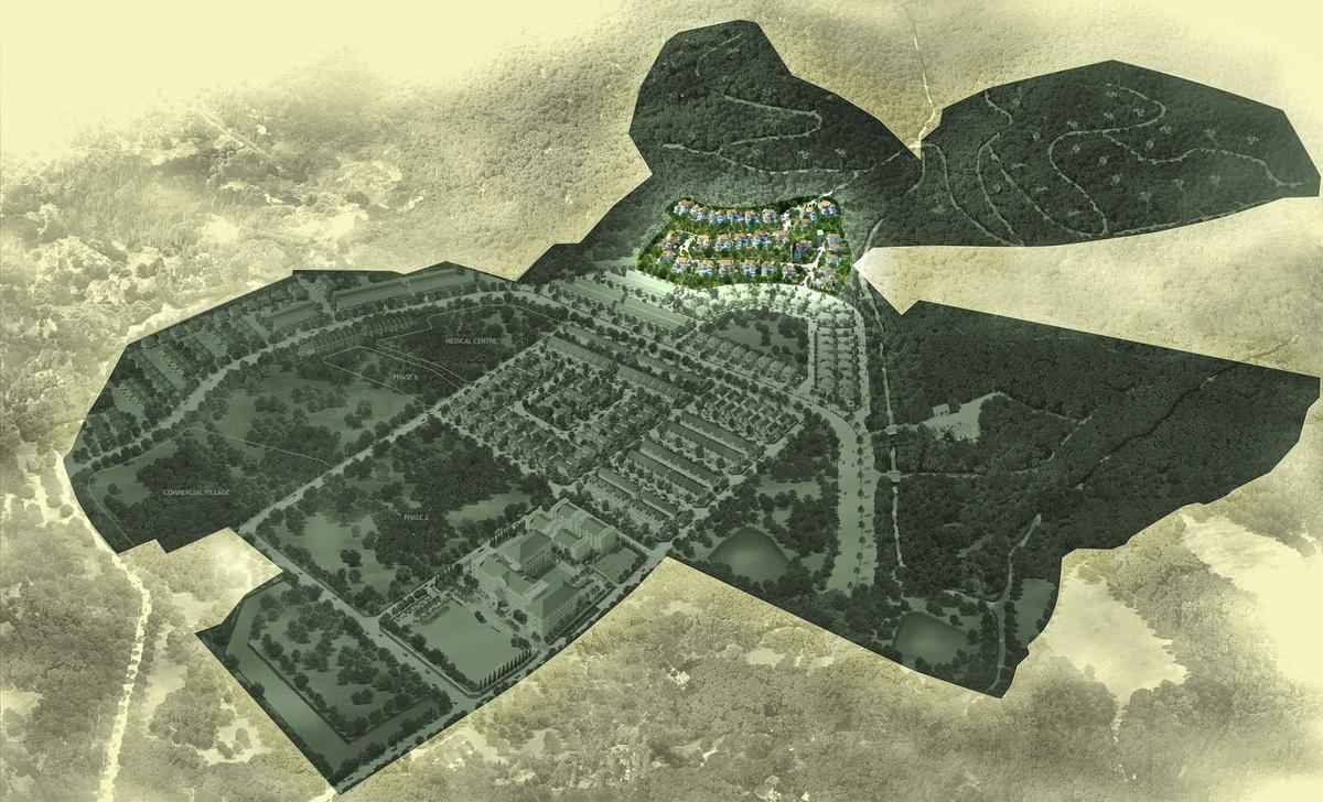 Master Plan of Botanica 4