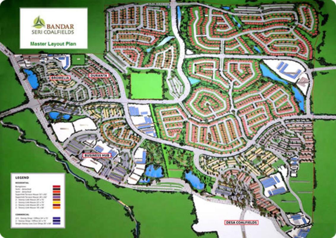 Master Plan of Ixora Residences