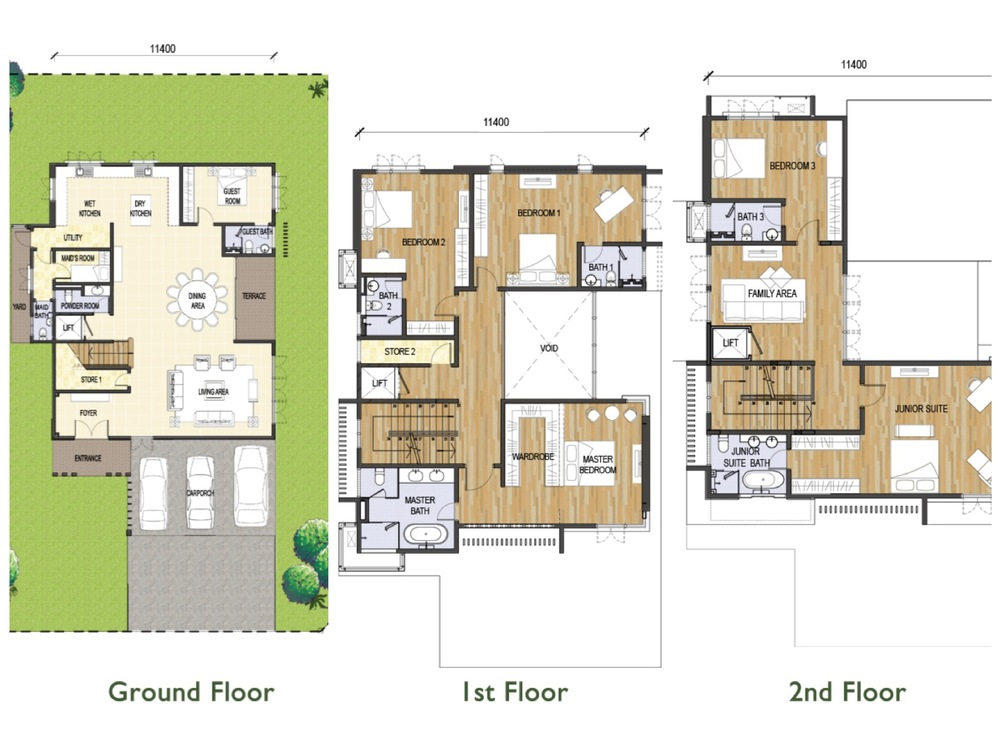 Tijani Ukay Type C Floor Plan