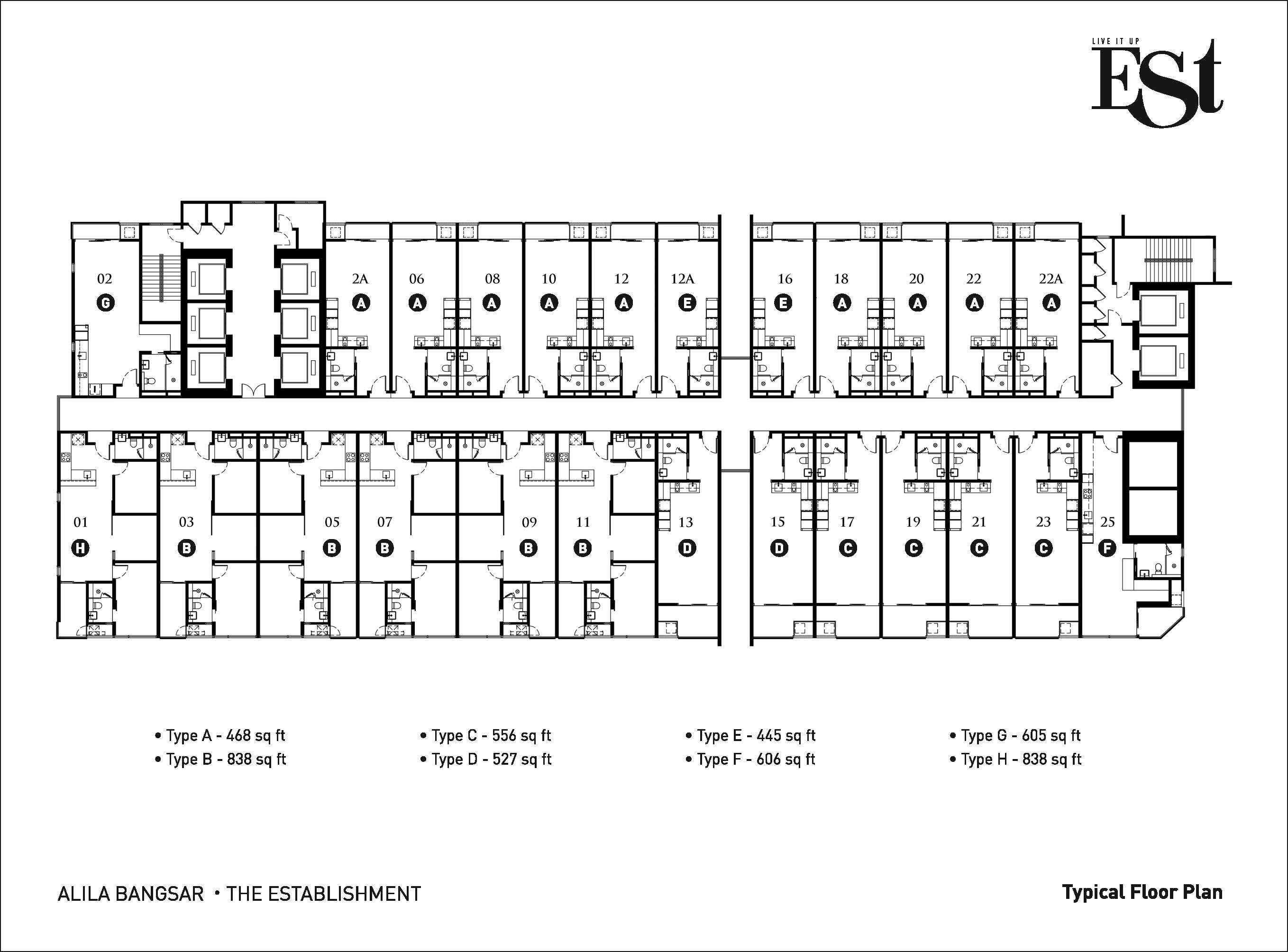 Site Plan of The Establishment