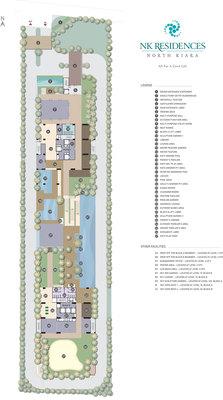 Site Plan of NK Residences