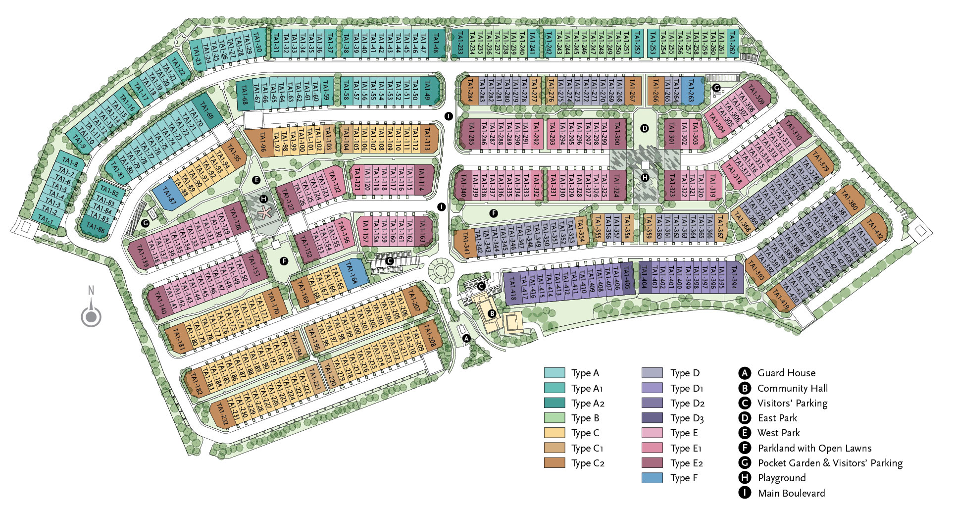 Site Plan of Arahsia