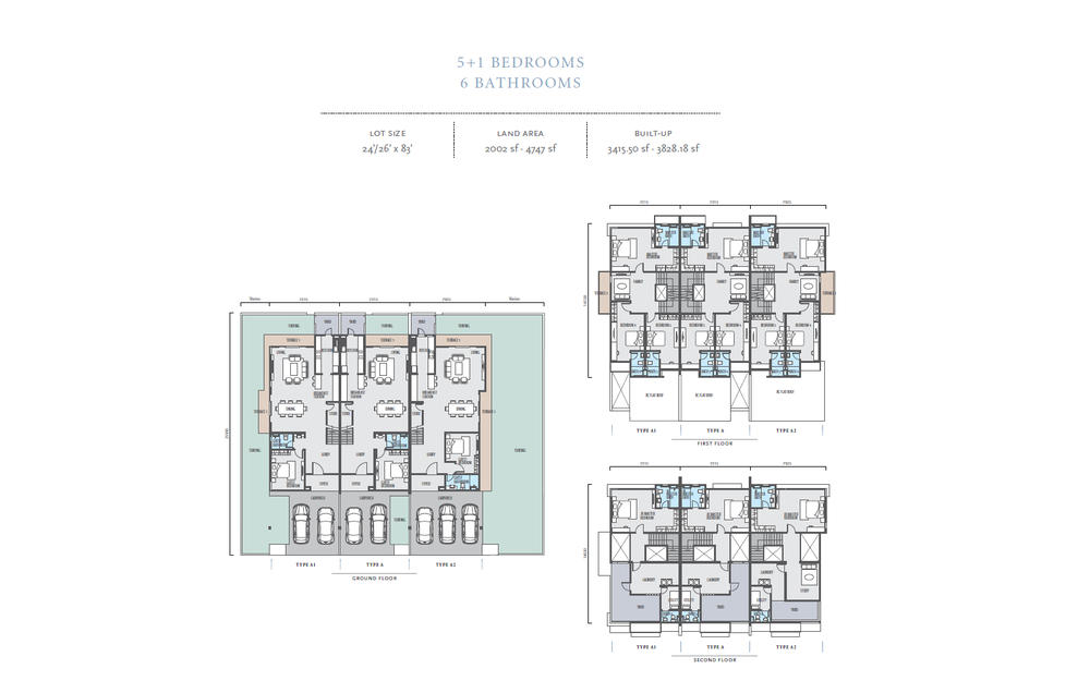 Bayan Type A/A1/A2 Floor Plan
