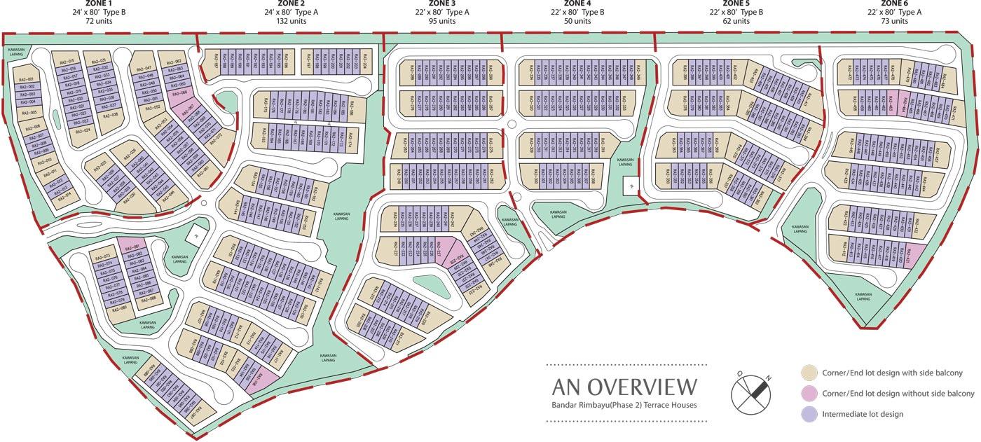 Site Plan of Perennia