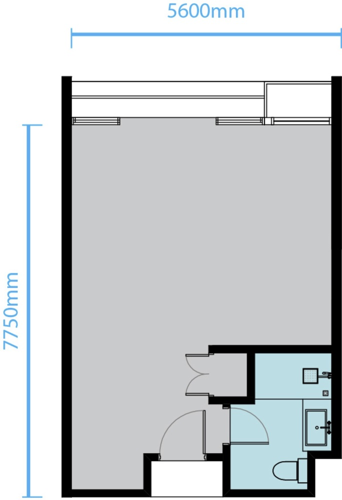 Trefoil Type A1 Floor Plan