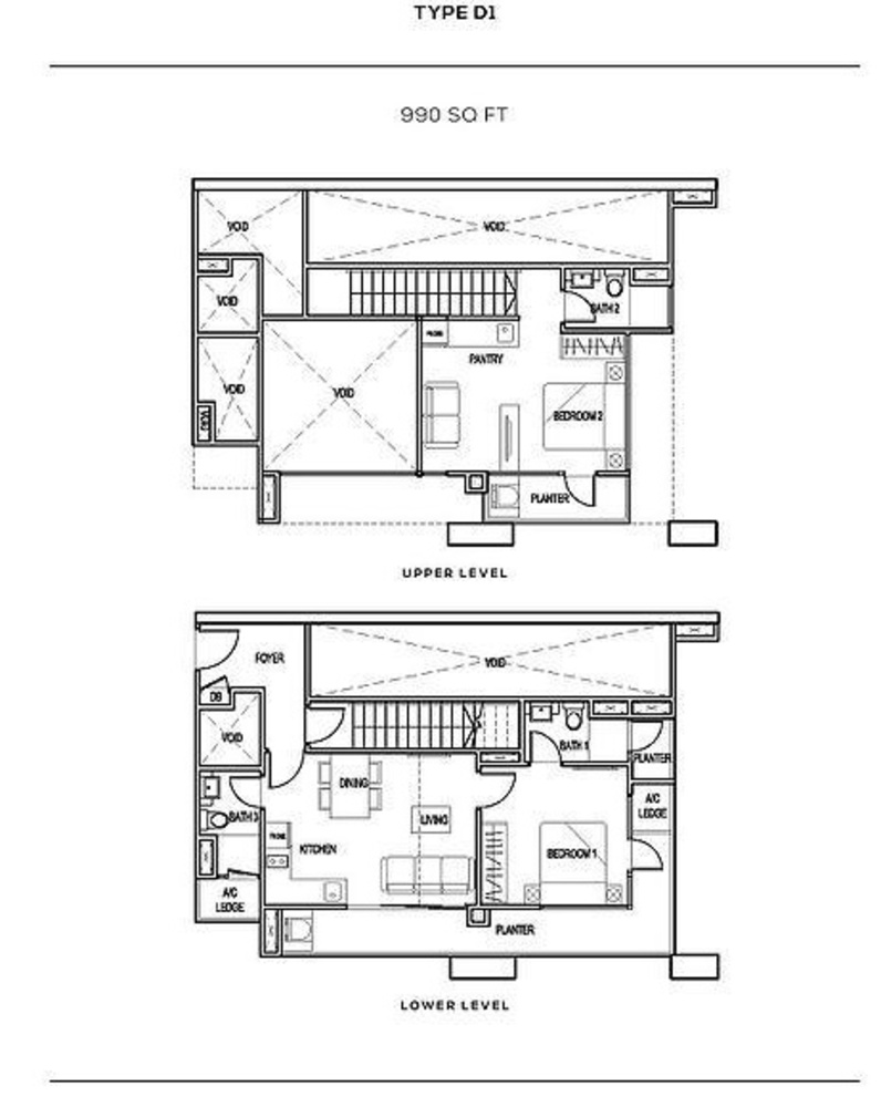 The Colony Type D1 Floor Plan