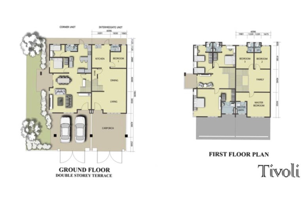 Semenyih Parklands Phase 2A (Tivoli) Floor Plan
