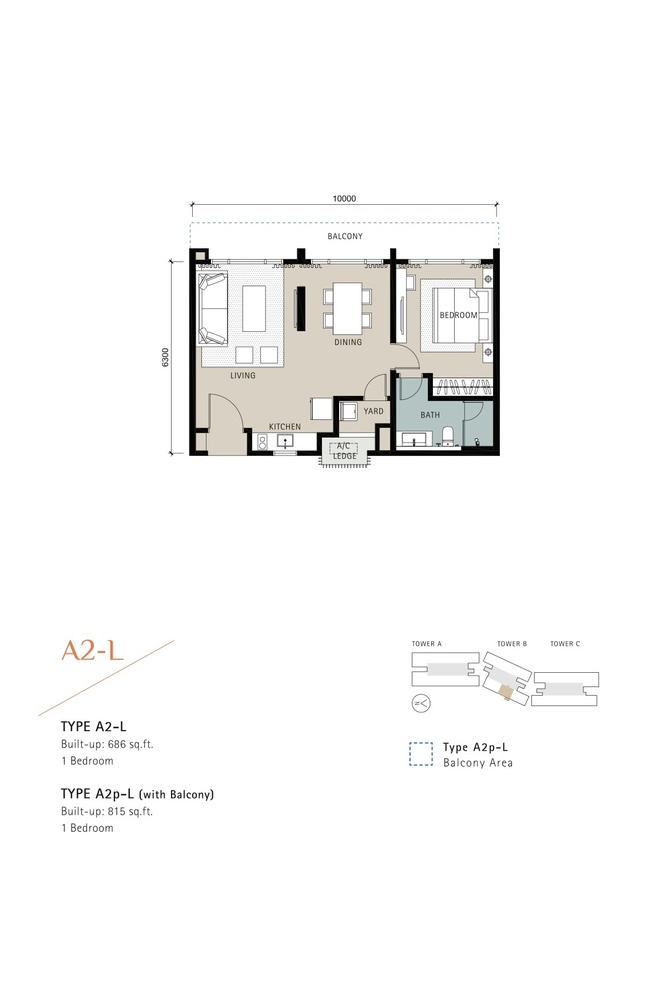 Novum Type A2-L Floor Plan