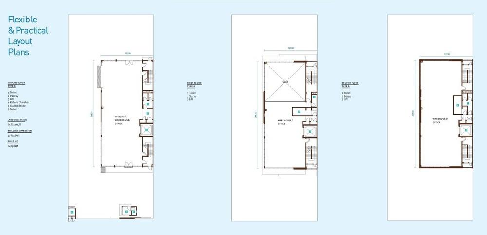 Sekitar 26 Sekitar 26 Business - Type B/B1 (Intermediate) Floor Plan