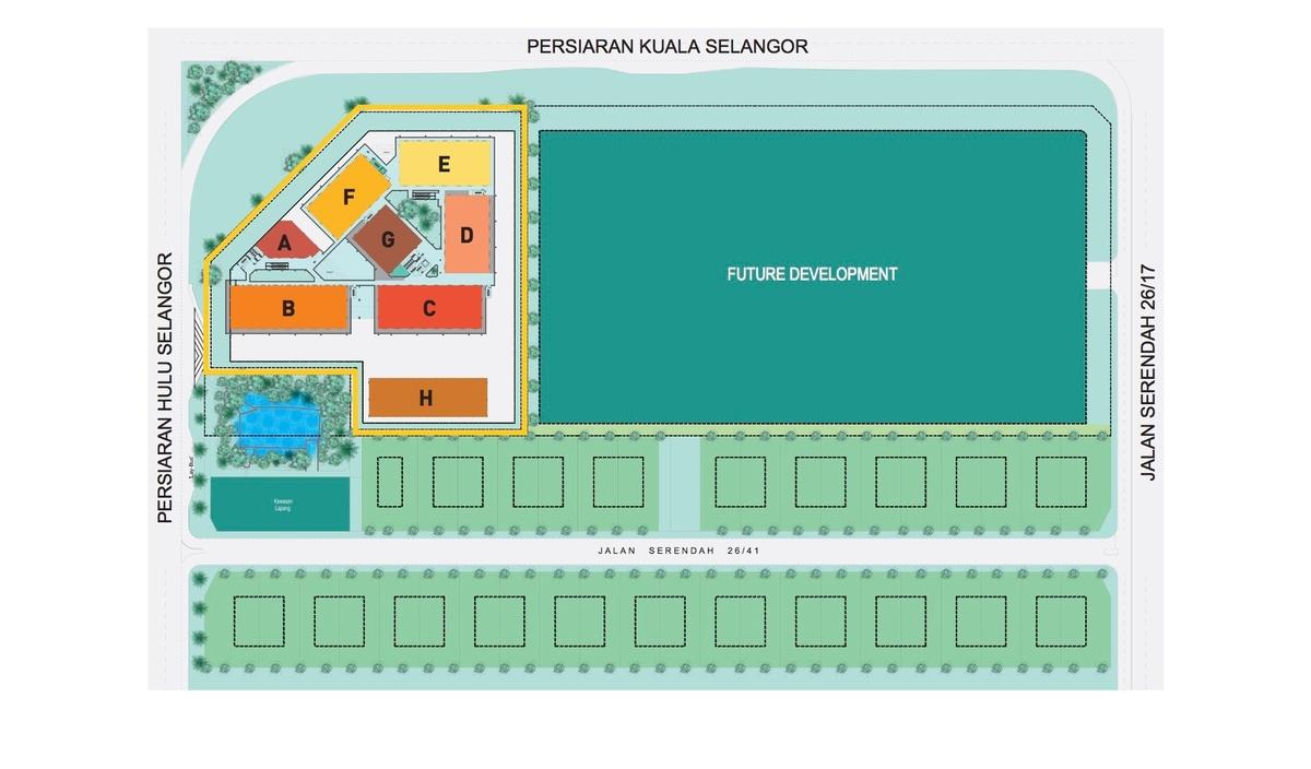 Master Plan of Sekitar 26