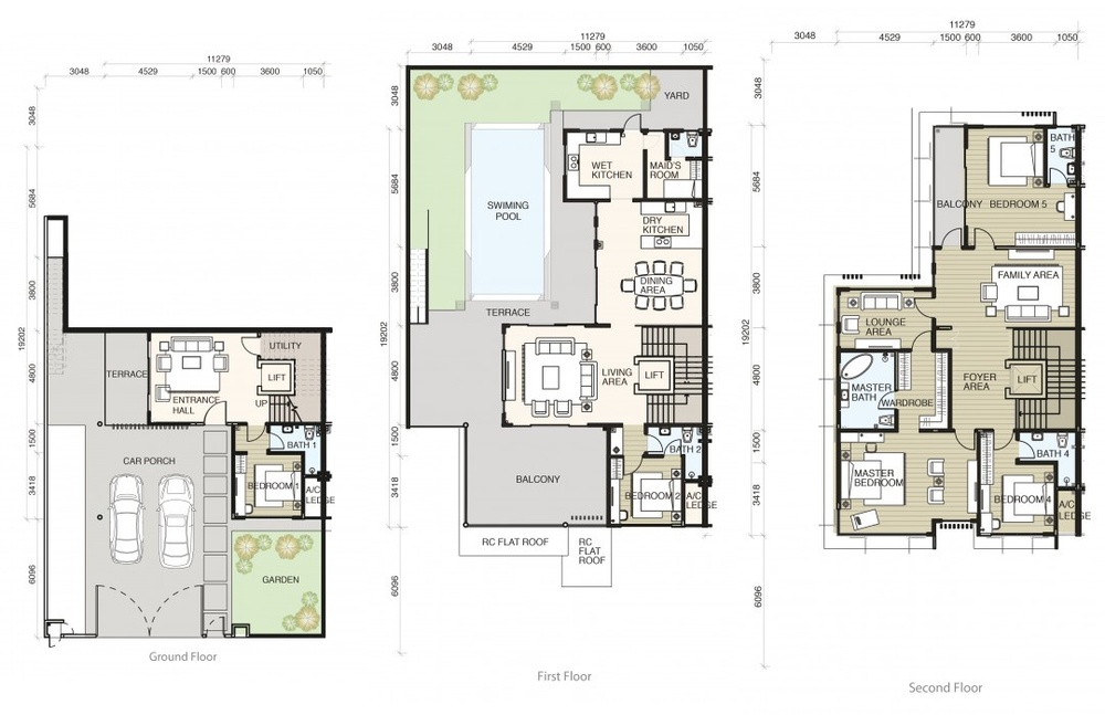 Tamarind @ Puteri Heights Type A Floor Plan