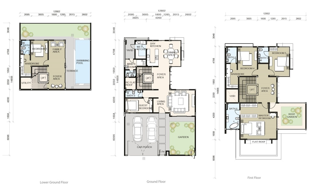 Tamarind @ Puteri Heights Type C (Phase 3) Floor Plan