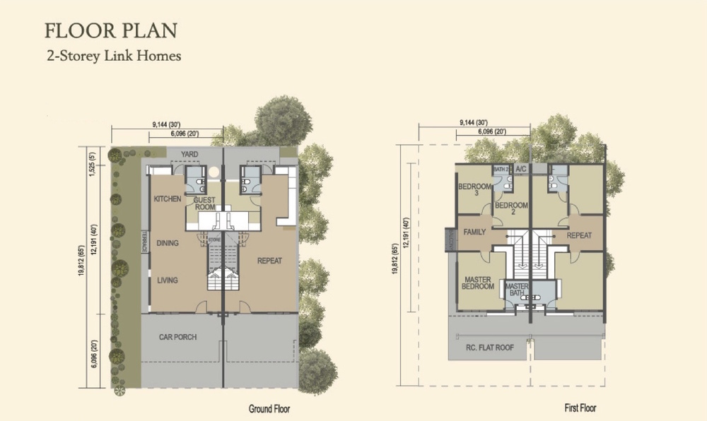Alpine @ M Residence 2 Type A1 & A2 Floor Plan