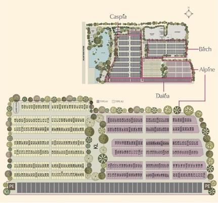 Site Plan of Alpine @ M Residence 2