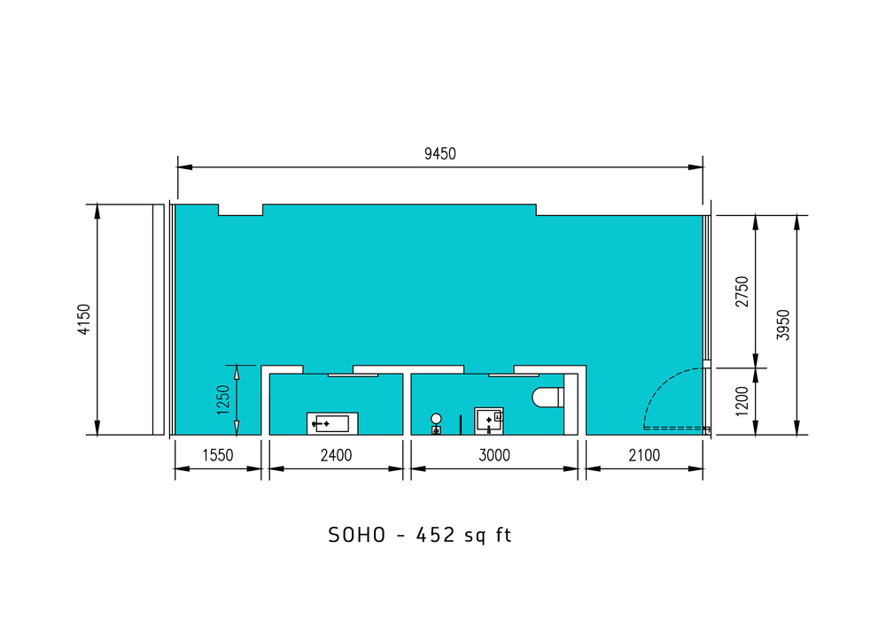 Lumi Tropicana SOHO Floor Plan