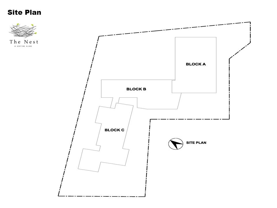 Site Plan of The Nest
